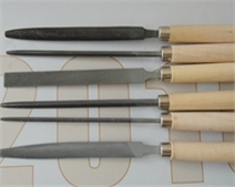 HASE锉刀 空间锉 键锉组套6件